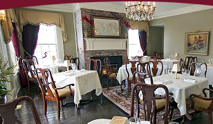 DesBarres Manor Inn Dining Room