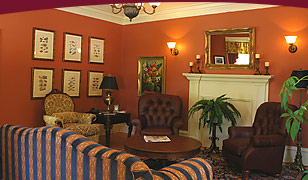 Image: DesBarres Manor Inn Reception Room